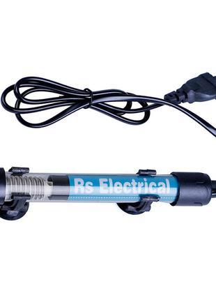 Аквариумный нагреватель 50W с терморегулятором RS Electrical