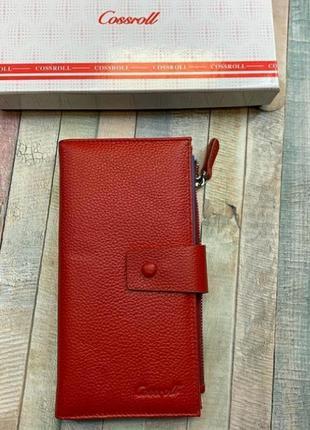 Женский кожаный кошелек из натуральной кожи шкіряний гаманець ...
