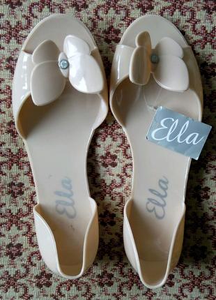 Латексные балетки Ella