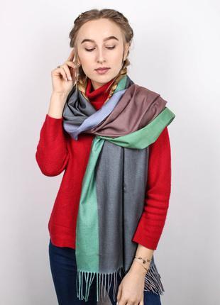 Теплый шарф палантин