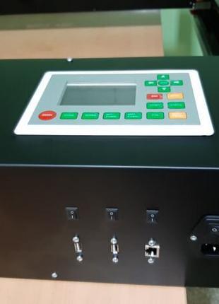 Лазерный гравер, резак Станок Лазер CO2, ЧПУ, 40Вт CO2, трубка,