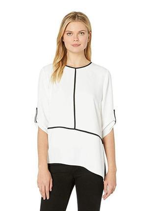 Calvin klein блуза белая нарядная оригинал xl 50 52