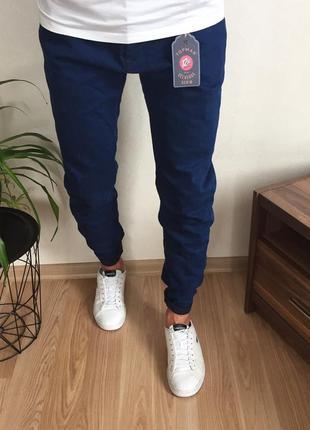 Крутые мужские зауженные джинсы topman новые с биркой