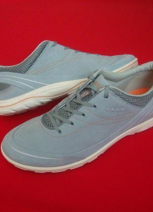 Туфли Ecco оригинал нубук 38 размер-25 см