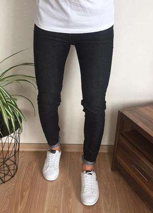 Мужские зауженные джинсы denimco