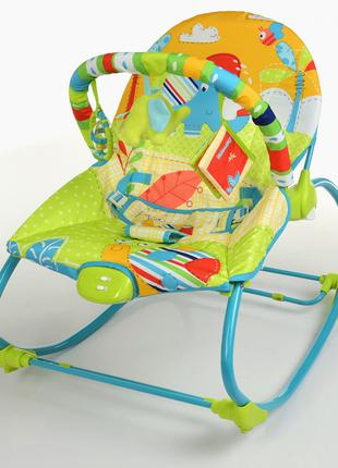 Детский шезлонг-качалка