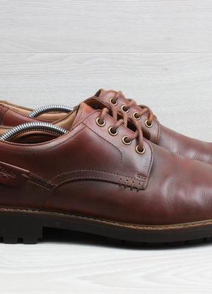 Мужские кожаные туфли clarks оригинал, размер 46