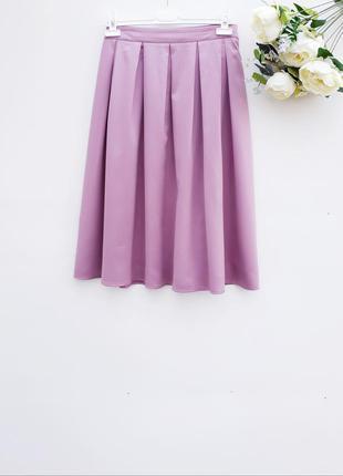 Очень красивая пишная юбка миди юбка в склады миди