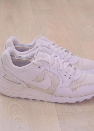 Nike air max мужские белые кроссовки оригинал