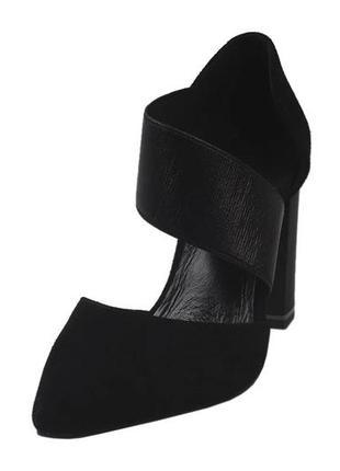 Стильные туфли для золушек  erisses натуральный замша, весна 2020