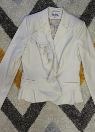 Пиджак жакет цвета айвори