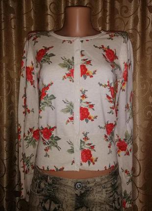 🌺🎀🌺красивая женская кофта на пуговицах, джемпер, кардиган в цв...