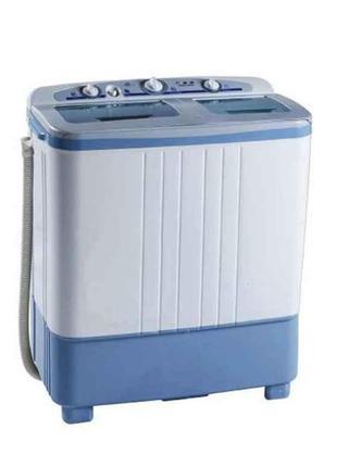 Пральна машина SATURN ST-WM7618 360 Вт 6.5 кг Синій (304173)