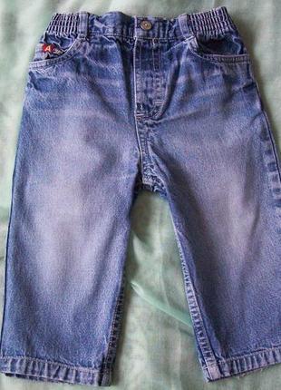 Джинсы на мальчика, 1 - 1,5 года / 86 см