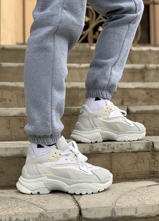 женские топ кроссовки ash gray