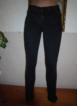 Суперовые джинсы/скинни/джинсы черные.