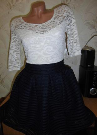 Нарядное платье с пышной юбкой!