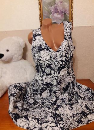 Шикарное хлопковое платье!