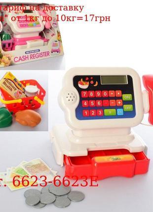 Кассовый аппарат 6623-6623E Кальк, сканер, корзина, продукты, ...