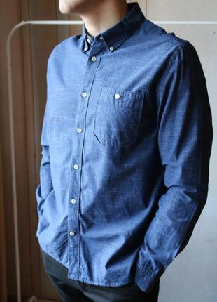 Темно-синя сорочка j by jasper conran, casual range