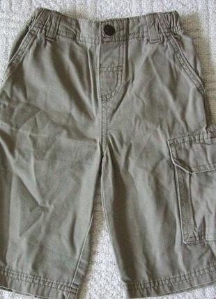 Котоновые штаны, бриджи на мальчика, 2-3 года