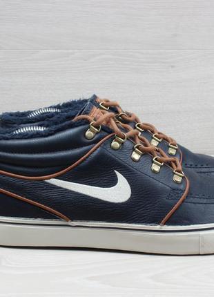 Мужские ботинки nike zoom stefan janoski mid sb, оригинал, раз...