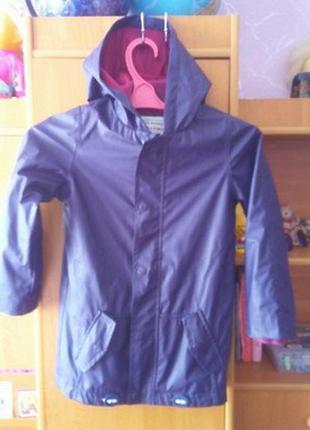 Непромокайка, куртка, р. 7-8 лет 128 см, lily&dan. состояние о...