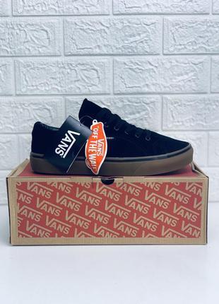 Кеды мужские vans old skool black черные кроссовки!кеды ванс к...