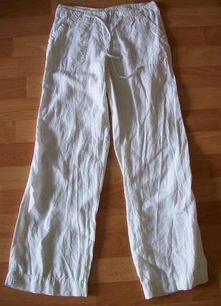 Легкие летние брюки, лен