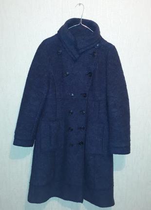 Шикарное шерстяное пальто, пальто шерсть,с шёлковой подкладко,...