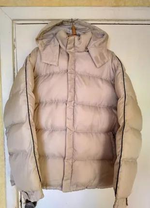 Зимняя мужская куртка Cutting Edge, с капюшоном, на застёжке