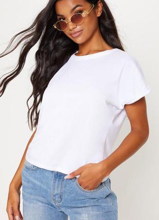 Ликвидация товара 🔥 белая бвзовая футболка