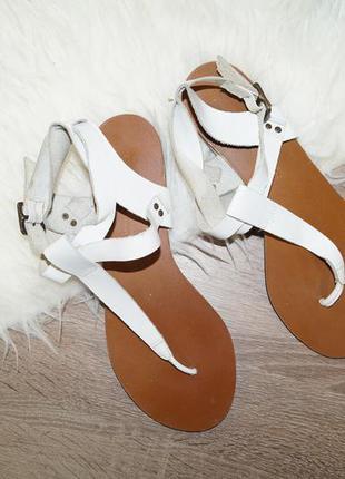 Кожаные сандалии босоножки от next
