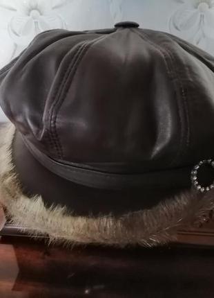 Шапка женская, шляпа, кепка, зимняя