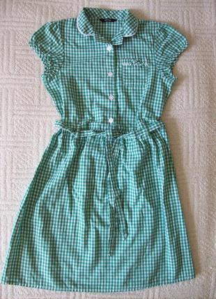 Летнее платье, 9-10 лет