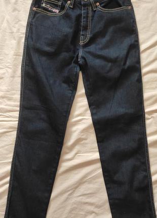 Джинсы diesel zlim stretch dark blue jeans womens