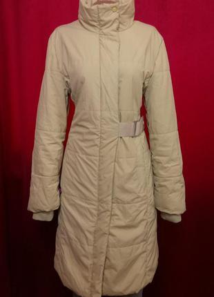 Пальто плащ на синтепоне и шерсти mango оригинал