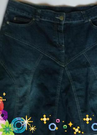 Джинсовая юбка хорошего большого размера