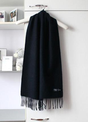 Мягкий шерстяной шарф от ballantrae, 100% овечья шерсть