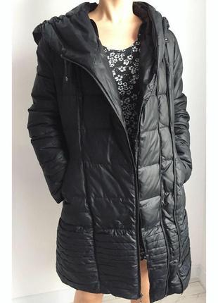 Зимняя куртка, зимова куртка, пуховик, черный пуховик.