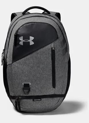 Рюкзак Under Armour Hustle 4. 0 Backpack NEW Оригинал Серый цвет