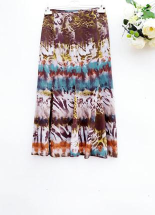 Легкая юбка миди красивая модная юбка миди