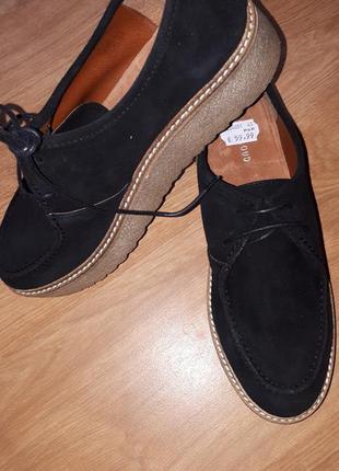 Распродажа!!!замшевые туфли musse&cloude испания