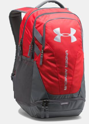 Рюкзак Under Armour Hustle 3. 0 Red Backpack Оригинал Городской