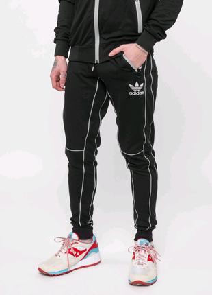 Штаны спортивные Adidas - Reflective, черные