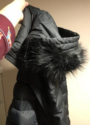 Nike женская куртка, пуховик найк зимнее пальто пух, перо