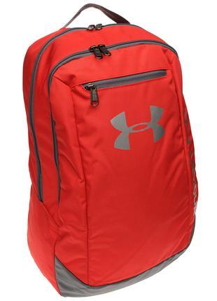 Рюкзак Under Armour Hustle Backpack Red Оригинал Красный цвет