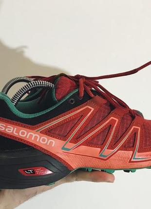 Женские треккинговые кроссовки salomon speedcross vario