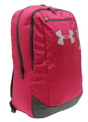 Рюкзак Under Armour Hustle Backpack Pink Оригинал Розовый цвет
