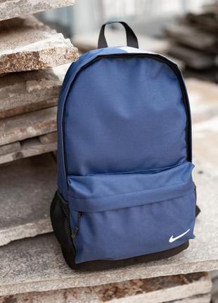 Рюкзак nike 42х30см, найк синий